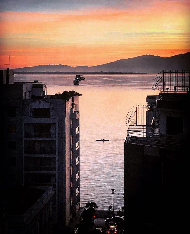You gotta love this city  .  ..  .  .  #sunset #sky #thessaloniki #travel #travelgram #darlingmovement #photooftheday #picoftheday