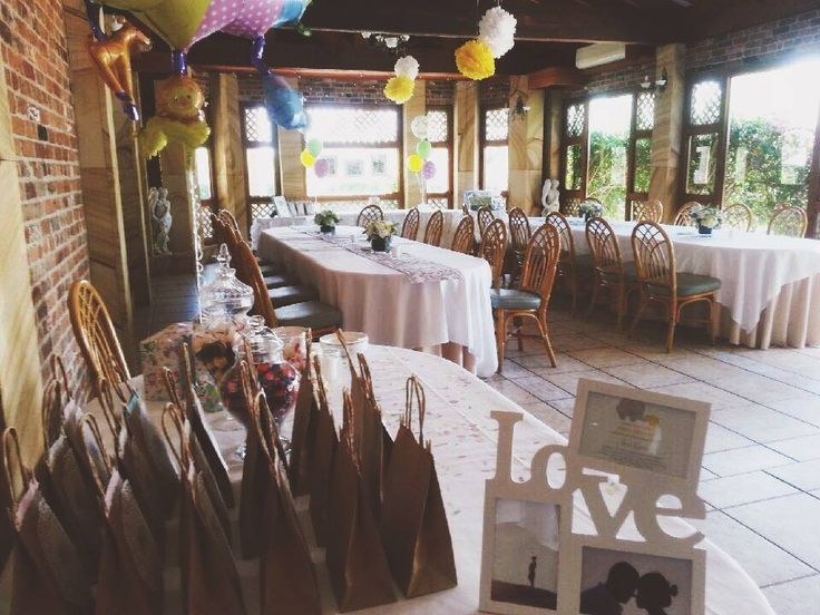 Garden room decorated for a Baby Shower | Eschol Park House