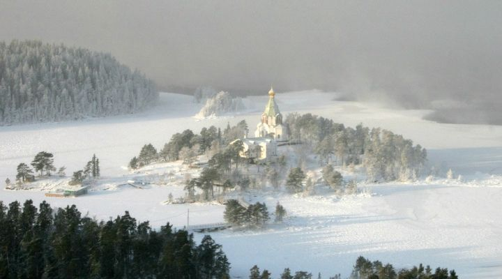 Russian island of Valaam Valaam Monastery