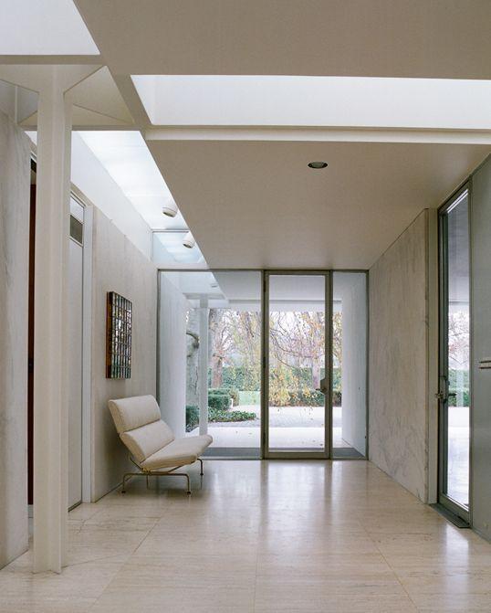 Miller House | Columbus, Indiana | Eero Saarinen | photo by Leslie Williamson