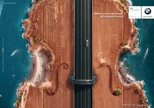 BMW takes you on the road to great music