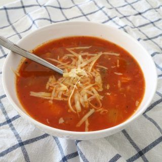 Mexican Spiced Tomato and Vegetable Soup - Thermobliss