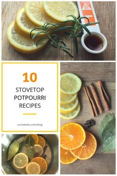 Stovetop Potpourri Recipes