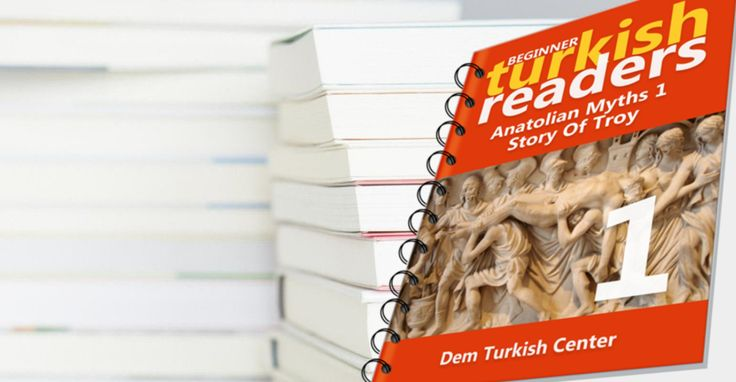 #Learn #Turkish #Language with #TurkishLanguage easy reading books for beginners - #Troy