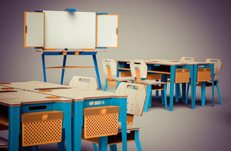 TIZA. Mobiliario escolar. 0