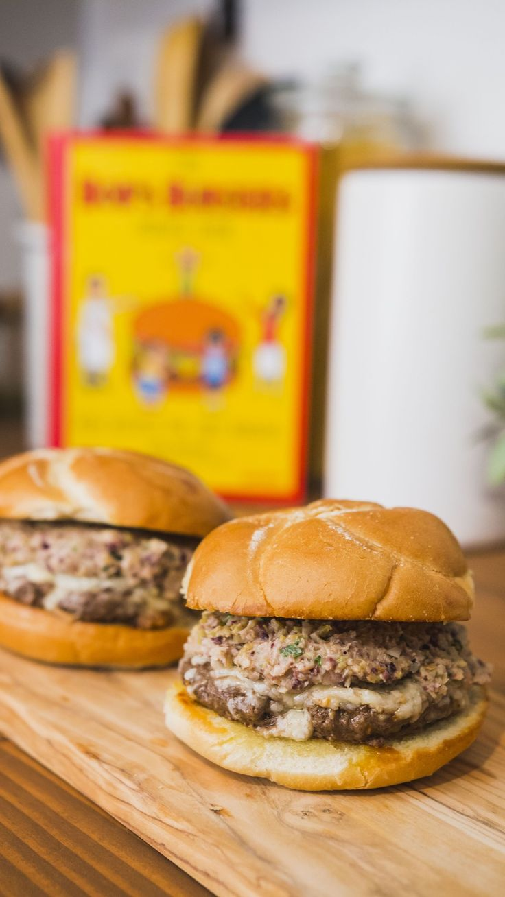 """Jen tests a burger recipe from """"Bob's Burgers Cookbook"""" to see if they're pun-tastically tasty IRL."""