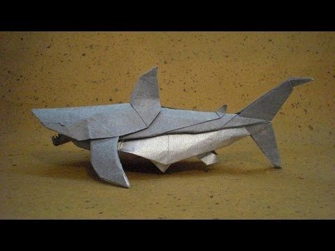 how to make an origami shark youtube