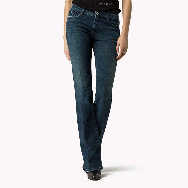 Tommy Hilfiger Sandy Bootcut Jeans - emerald stretch - Tommy Hilfiger Bootcut Jeans & Flares - main image