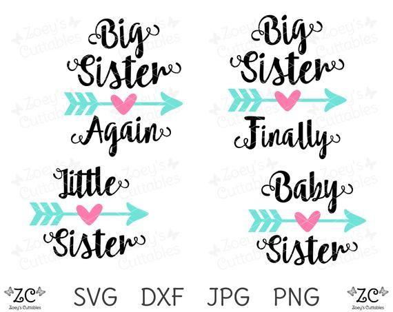 Sister Svg Big Sister Finally Svg Big Sister Again Svg Etsy In 2020 Big Sister Sisters Big Sister Little Sister