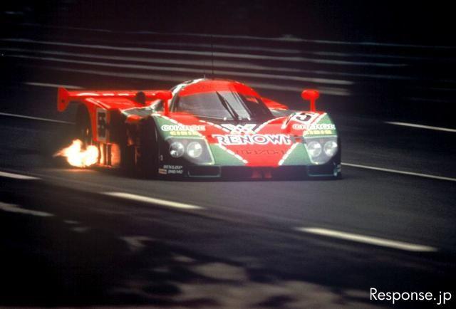 写真蔵]マツダ 787B、ルマン24時間耐久レース…1991年 その2 - e燃費 ...