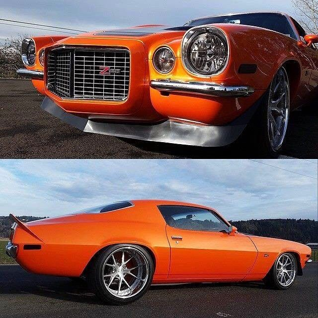 """SuperCamaro's built '70 Camaro with a 575 HP LS3 with Holley EFI, full independent suspension Front/Rear, Wilwood 13"""" disc brakes with 6 piston calibers, and a T-56 magnum"""