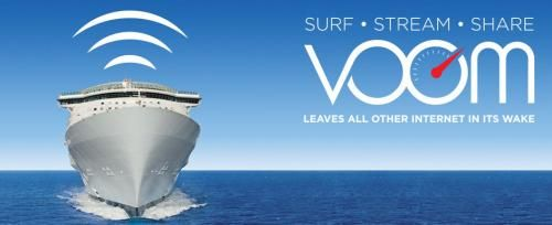 Voom, Royal Caribbean's high speed internet service, is revolutionizing the kinds of internet speeds guests can expect to find on their cruises and here'...