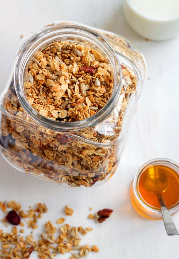 Create your own granola yuminess. The possibilities are endless, get creative! eatwell101.com