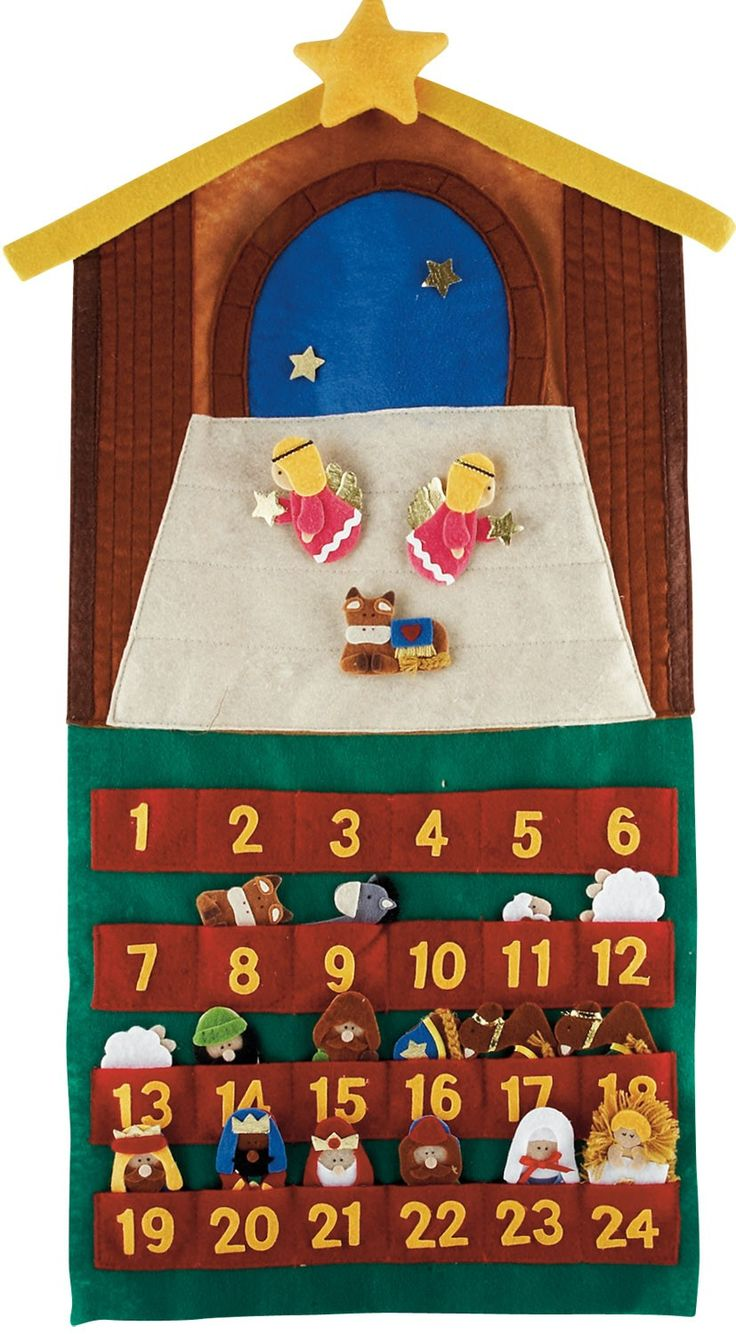 1000 ideas about nativity advent calendar on pinterest - Pinterest advent ...