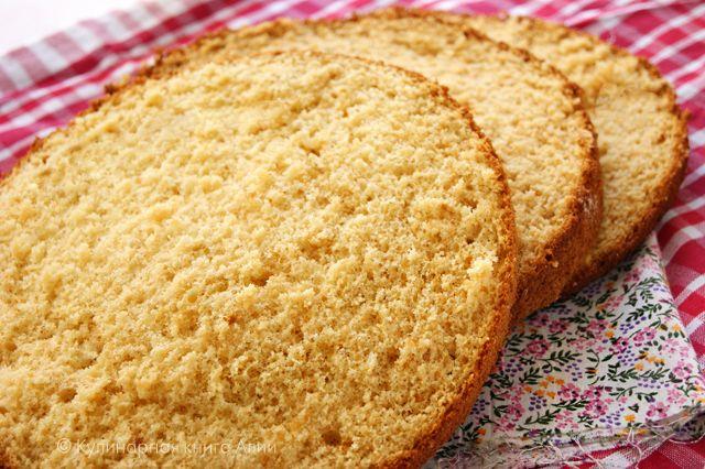 Кулинарная книга Алии: 512. Медовый бисквит