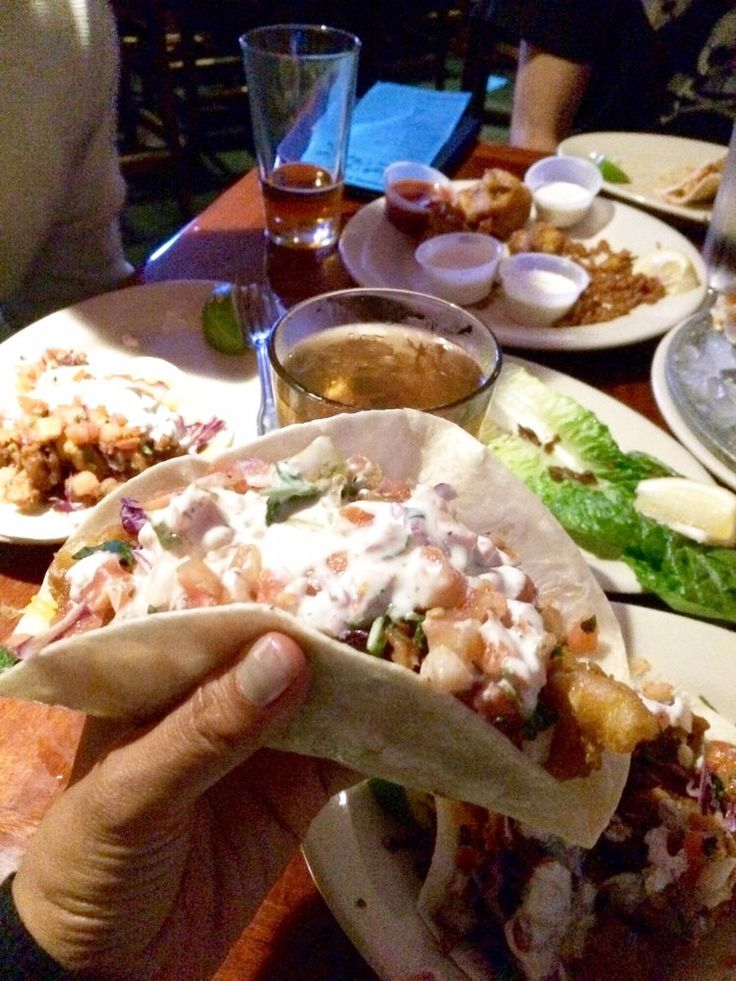 South Beach Bar & Grille top-rated fish tacos | Reislustig | Pinterest | Beach bars, Beach and ...