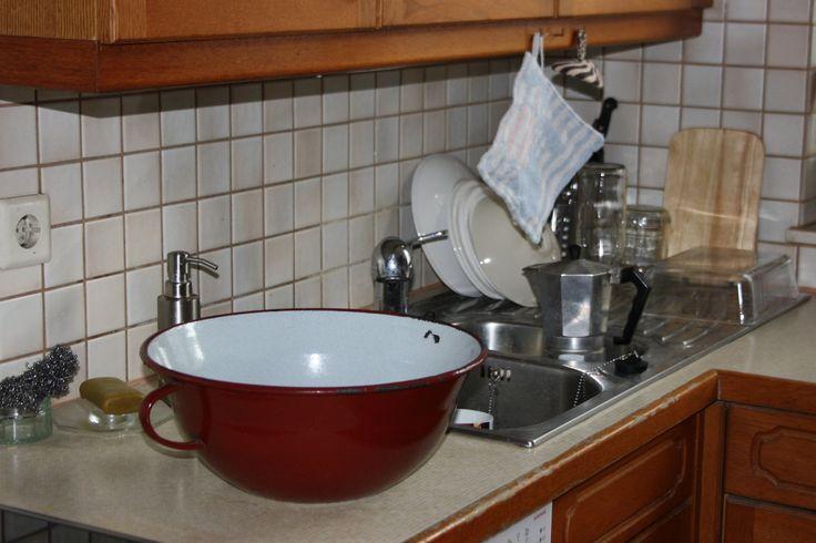 So sieht es beim Abwasch in der Küche aus - Müll reduzieren beim Abwasch