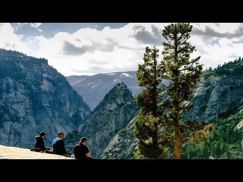 Nevada Falls Yosemite National Park California USA. First time going to Yosemite glad I chose this trail. #hiking #camping #outdoors #nature #travel #backpacking #adventure #marmot #outdoor #mountains #photography