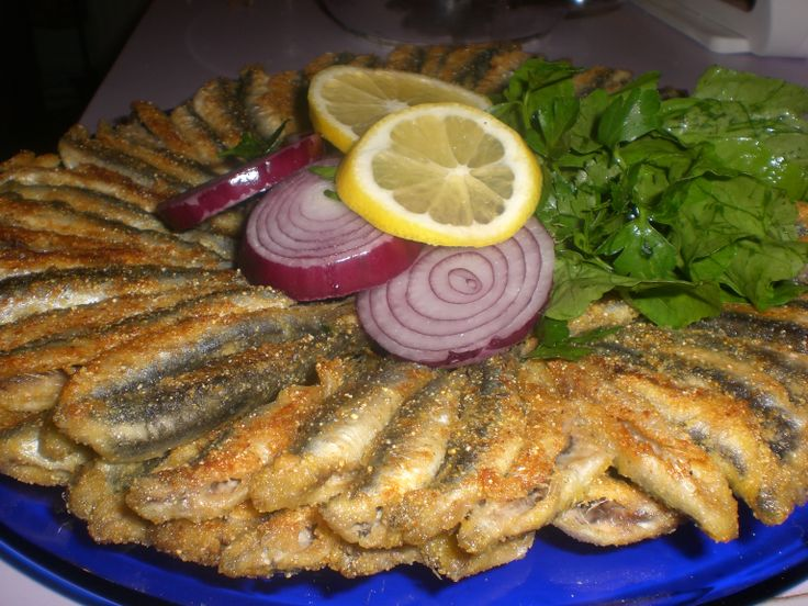 If you visit turkey you have to try the hamsi tava