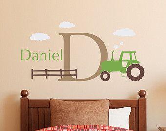 Kinderzimmer gestalten junge traktor  Die besten 25+ Jungen Traktor Zimmer Ideen auf Pinterest | John ...