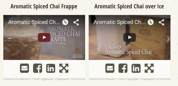Gain new exciting concepts of creating wonderful beverages using the beverage base Aromatic Spiced Chai by viewing the videos provided by Frappe Base Suppliers Australia. They deliver videos for seven different beverage bases, made by experts having skill from more than three decades. They also provide all their beverage bases with different aromas and designs, customers can easily create their own also they can take help of written recipes by the experts of research & development team.