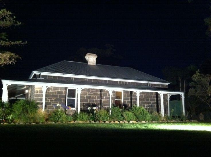 Night picture bluestone house