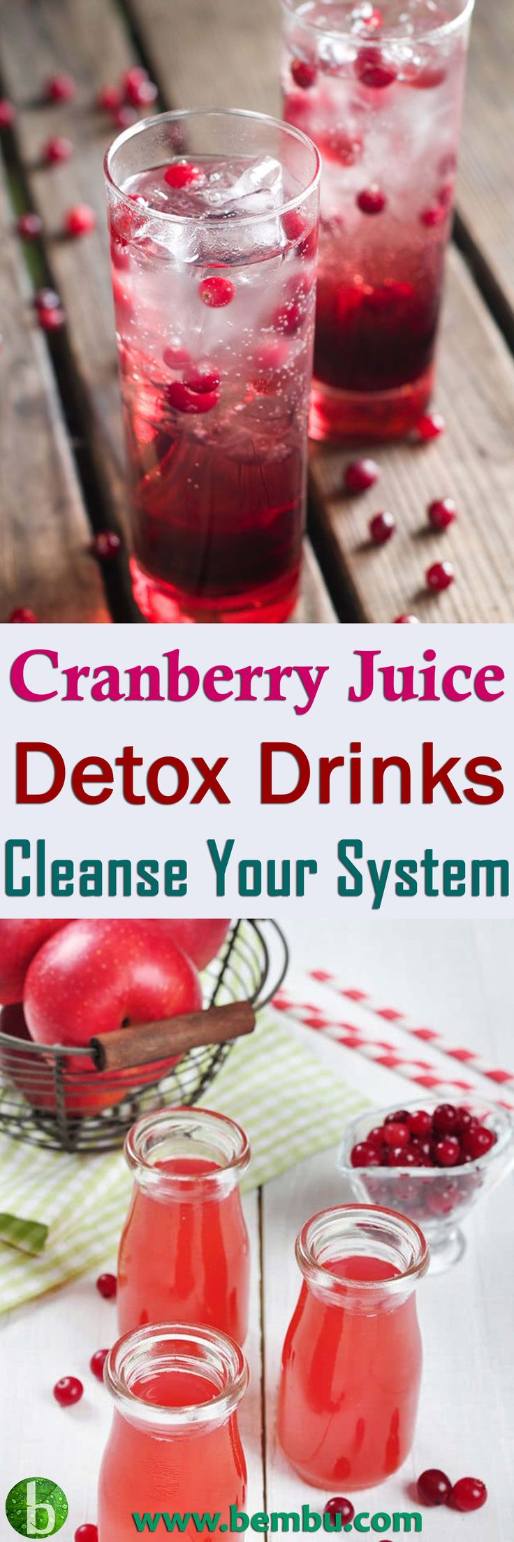 "CranApple Daily Detox Juice You can enjoy this juice daily for its detox benefits, and to also get your ""apple a day"" requirement met. Health Tips │ Health Ideas │Healthy Food │Food │Vitamin │Drinks │Detox │Smoothie │Juice #Health #Ideas #Tips #Vitamin #Healthyfood #Food #Vitamin #Drinks #Detox #Smoothie #Juice"