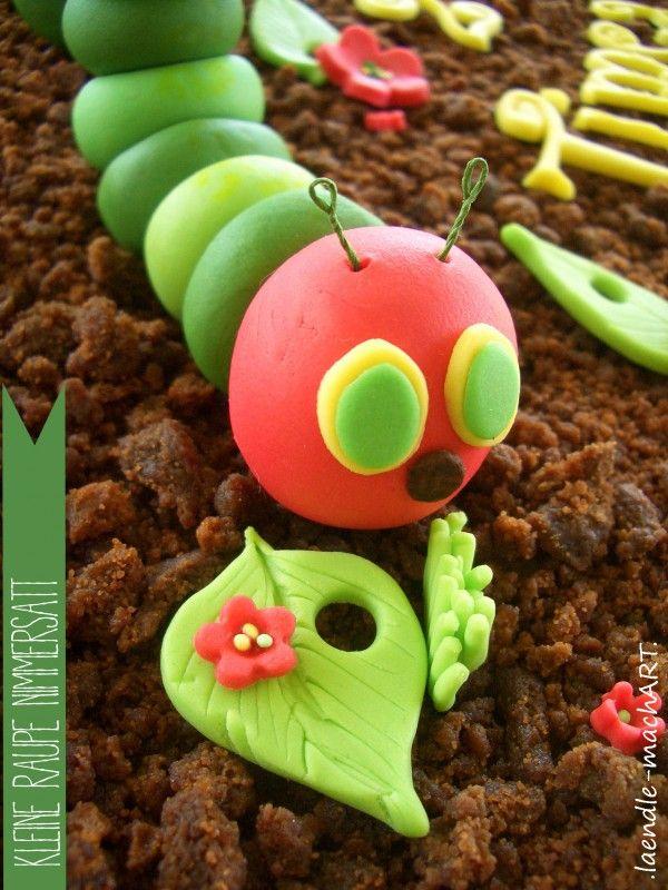 Kleine Raupe Nimmersatt | Große Torte für kleine Menschen - Handmade Kultur