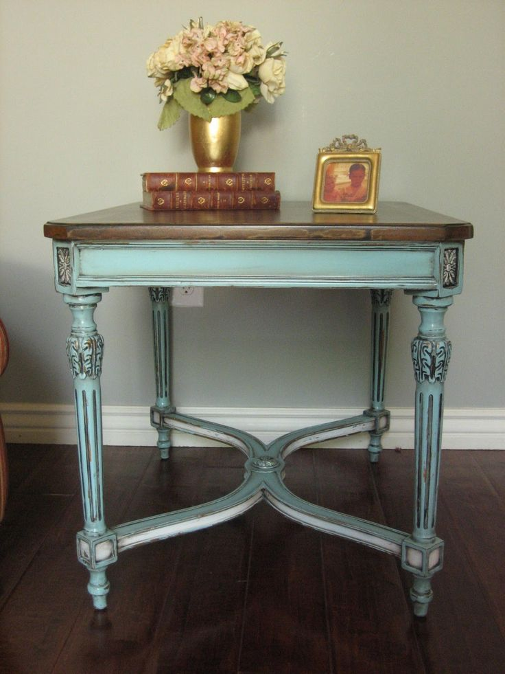 25 best Aqua painted furniture ideas on Pinterest