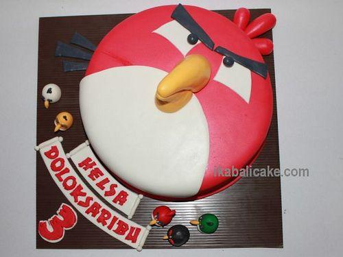 IKA Bali Cake Birthday Angry Bird
