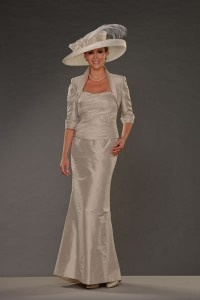 your mom and i think this is the dress and hat she should wear to your wedding!          LOL