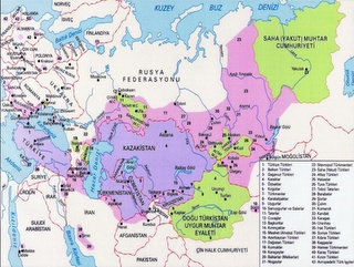 Türk Dünyası'nın Coğrafyası / Prof. Dr. İbrahim Atalay http://turktarihinden.blogspot.com/2012/07/turk-dunyas-cografyas-prof-dr-ibrahim.html