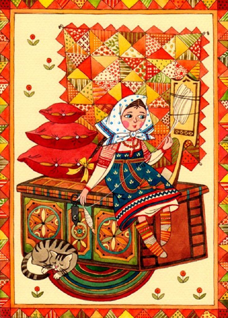 Ночи картинки, открытки русский стиль