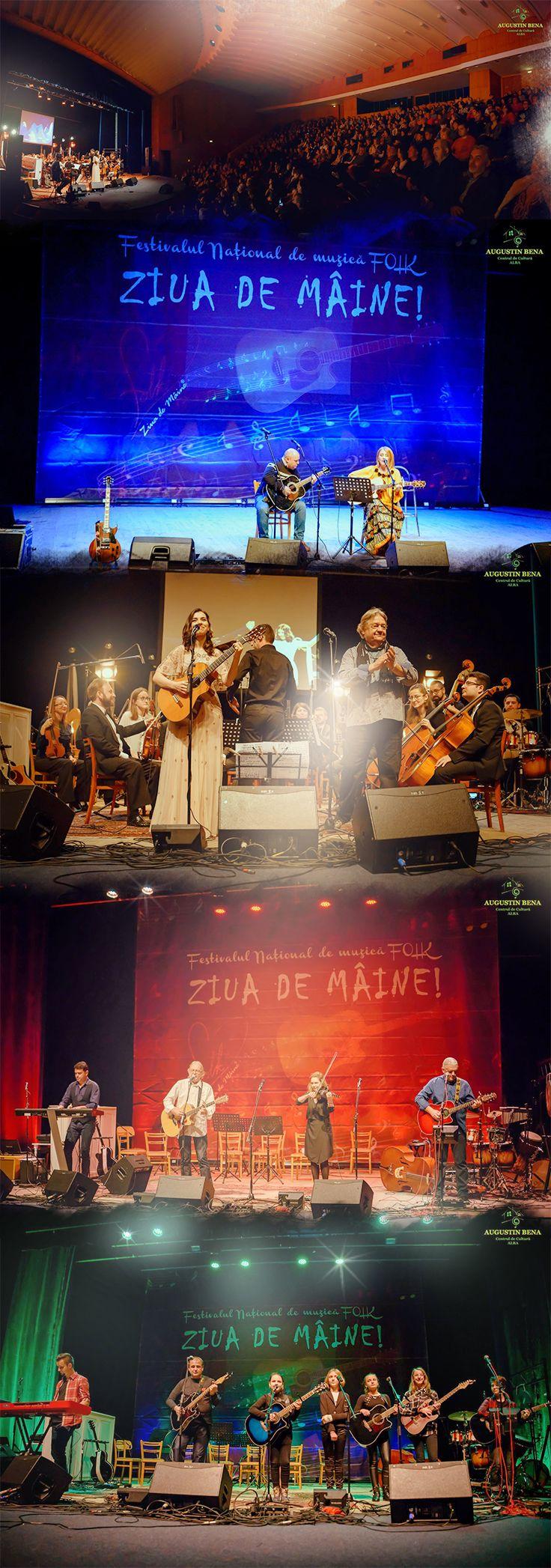 """Festivalul Concurs de Muzică Folk """"Ziua de Mâine"""", cel mai important festival concurs de muzică folk din România. #folkmusic #folkartist Foto: Sârb Vasile"""