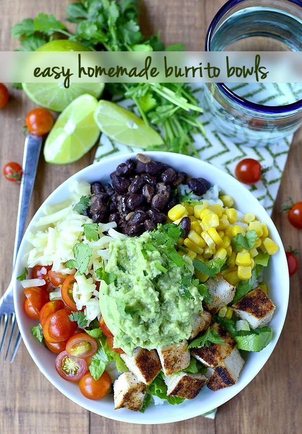 how to make burrito bowl chipotle