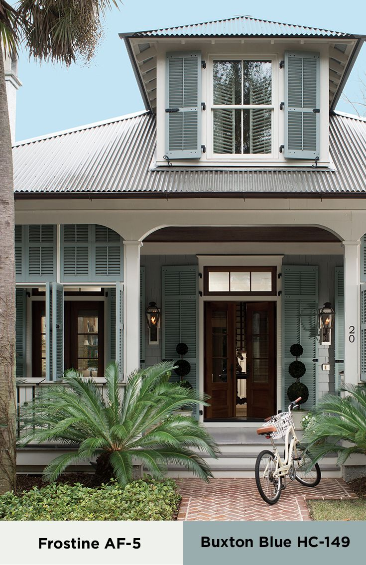 Bring southern charm to your home with this color palette  Learn more about  this andBest 10  Blue house exteriors ideas on Pinterest   Blue houses  . Exterior Home Color Schemes Florida. Home Design Ideas