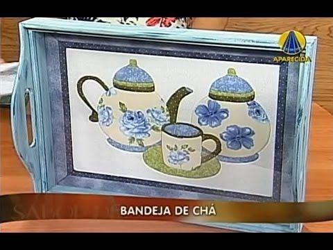 Sabor de Vida | Bandeja de Chá - 08 de Janeiro de 2013 - YouTube