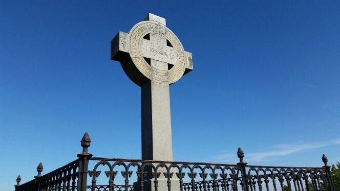 The viking cross from Birka island - the old viking island in Mälaren. #viking #birka #björkön #stockholm