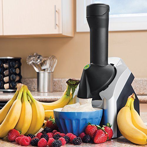 Amazing 100 Fruit Soft-Serve Maker Frozen Healthy Dessert Maker 100% Fruit Soft #DessertMakerFruitSoft