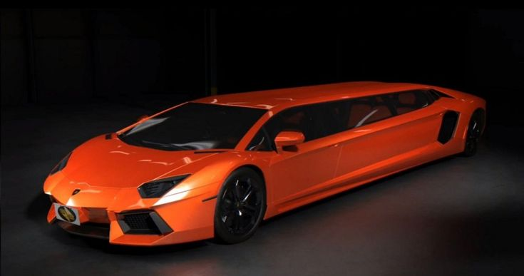 Have a night out in style with this Lamborghini Aventador Stretch Limo!