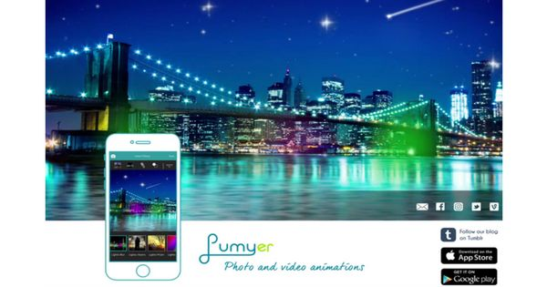 Lumyer.com is an app that allows you to edit photos, create video animations and share easily across multiple social media platforms. Learn more ...
