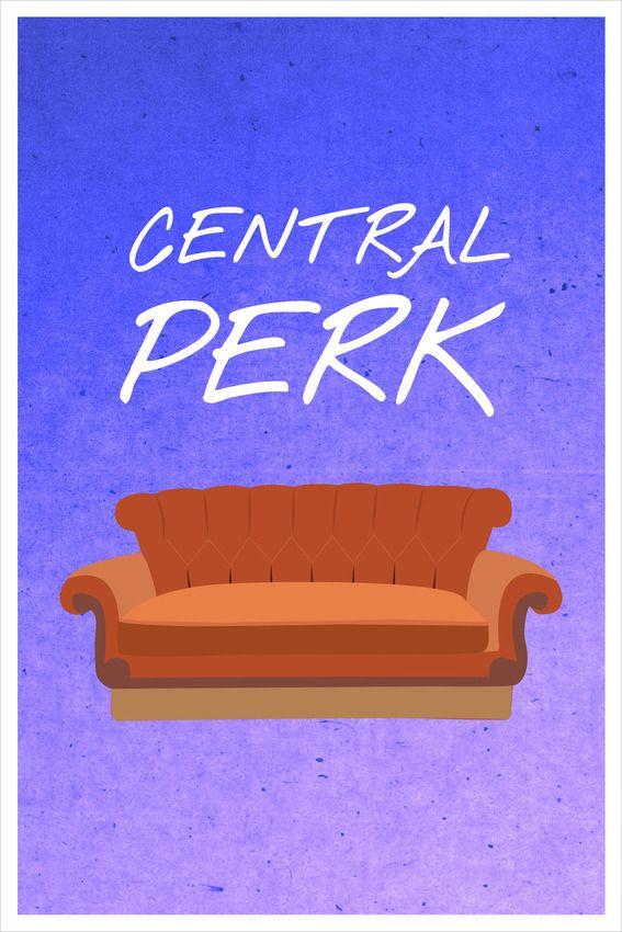 Grandes momentos de Friends em 20 cartazes minimalistas