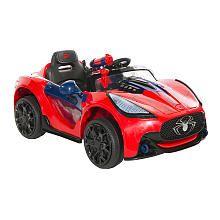 dynacraft spiderman super car 6 volt quad powered ride on