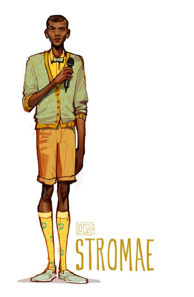 Stromae - Lois Van Baarle