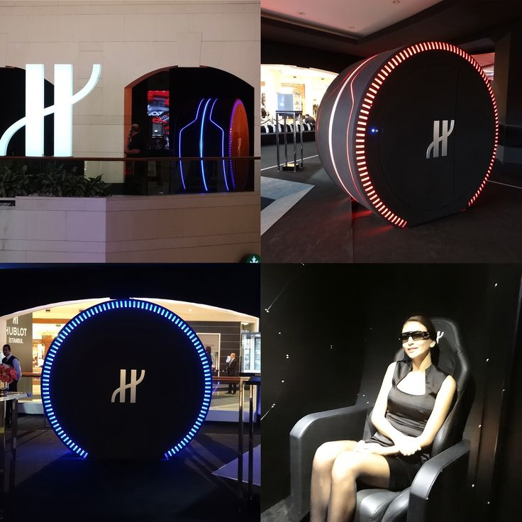 Immersion in a new dimension : The Hublot Watch Capsule in Istanbul. Step inside and get ready for a Watch Experience !