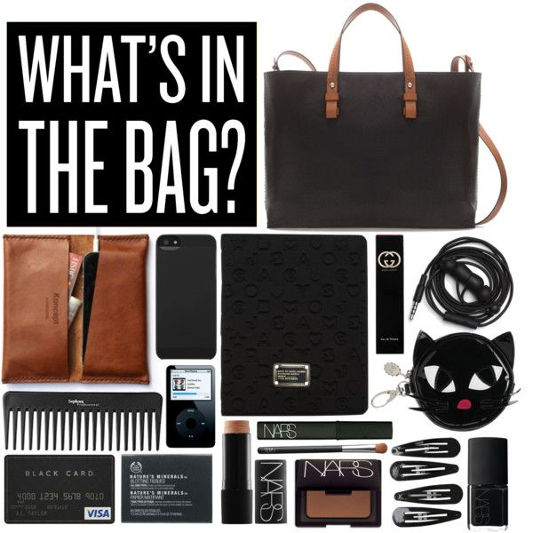 Inside my bag by tania-maria on Polyvore