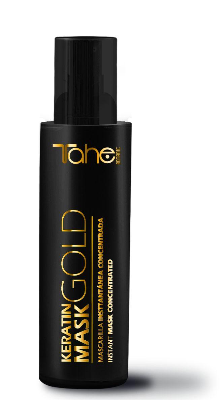 KERATIN GOLD MASK Μάσκα με ενισχυμένη σύνθεση και 10 διαφορετικές δράσεις, για αναδόμηση, θρέψη, προστασία από το φριζάρισμα, λάμψη και μαλλιά γεμάτα σώμα!