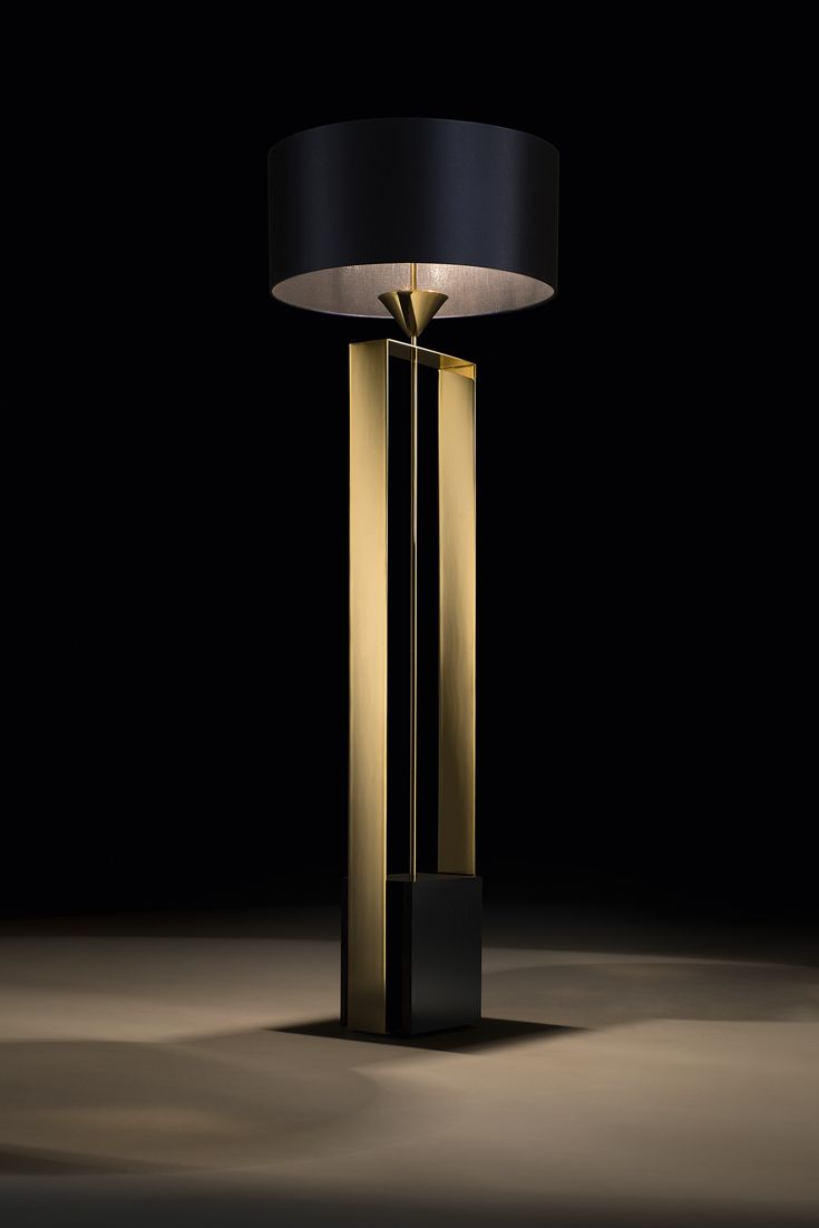 A touch of sophistication, offering the versatility to be the perfect addition to any setting. To suit both a classic or contemporary interior, owing to its beauty. The epitome of outstanding Italian style and linear design, where classic inspiration and clean lines meet contemporary luxury. The Gold Contemporary Designer Floor Lamp is the ultimate statement of superior Italian design meeting modern living. Ideal for lovers of lighting. The finest in great visual design!