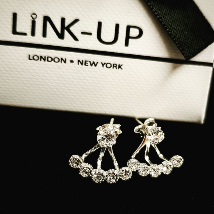Sterling Silver Ear Jackets from Link-Up
