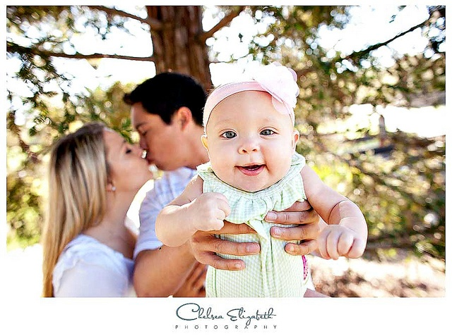 3 month baby portraits at sunny park by Chelsea Elizabeth Photography, via Flickr